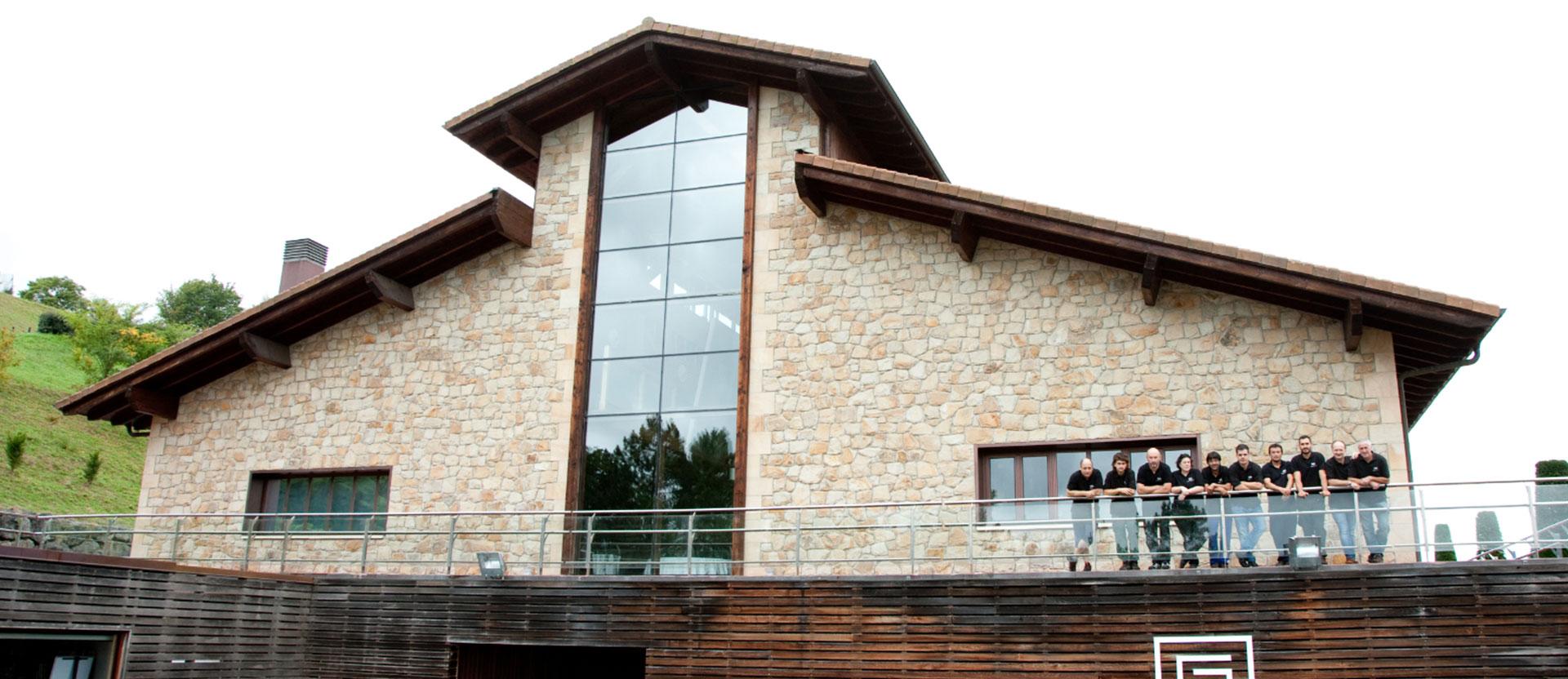 <h1>Gorka Izagirre winery</h1>